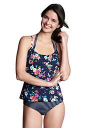 Women's SwimMates Floral Scoopneck Cami Swimsuit Top
