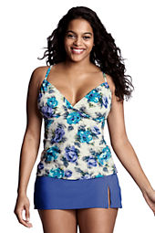 Women's Lela Beach Floral Underwire Tankini Top