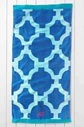 Tile Beach Towel