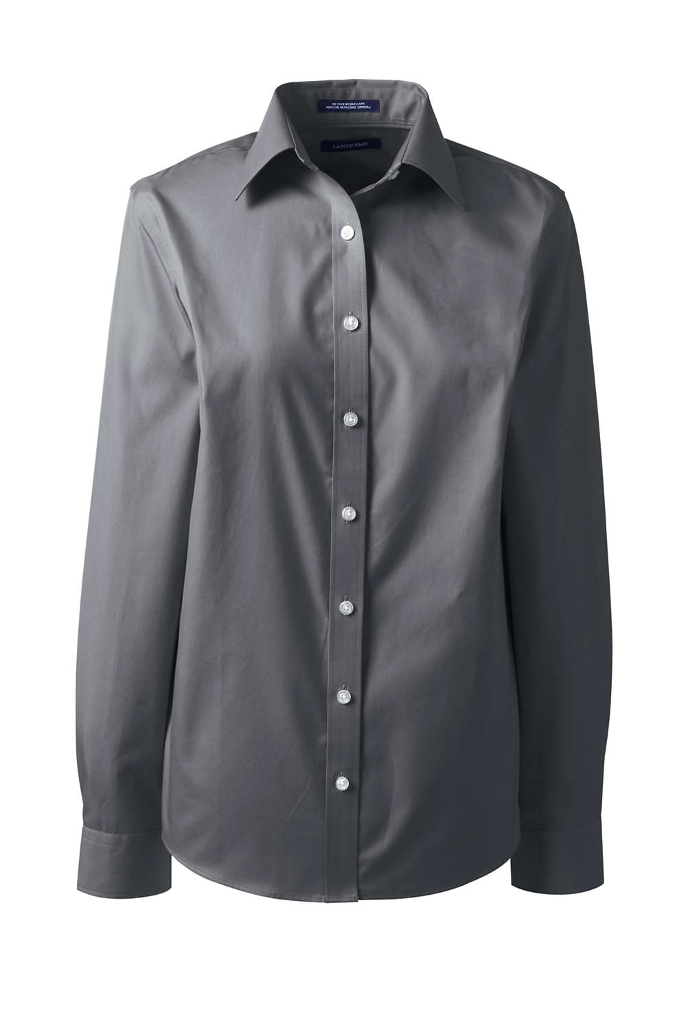 0004169fbd6a0 Women s No Iron Broadcloth Shirt from Lands  End