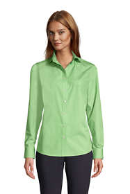 Women's Tall Long Sleeve No Iron Broadcloth Shirt
