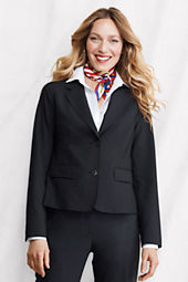 Women's 2-button Washable Wool Blazer
