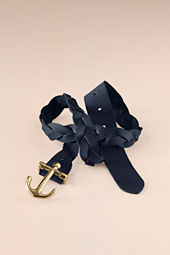 Women's Anchor Buckle Belt