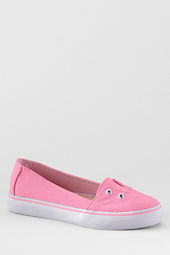 Girls' Teagan Canvas Slip-on Shoes