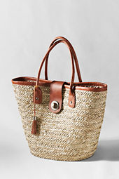 Women's Refined Straw Tote