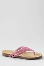 Women's Finley Cork Bottom Braided Thongs