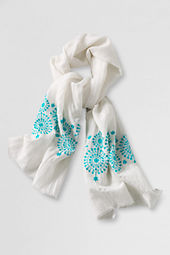 Women's Cotton Linen Scarf