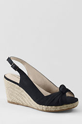 Women's Parker Mid Wedge Knotted Espadrilles