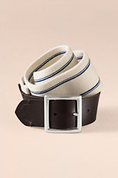 Women's Wide Stripe Elastic Belt