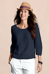 Canvas Women's Basketweave Sweater