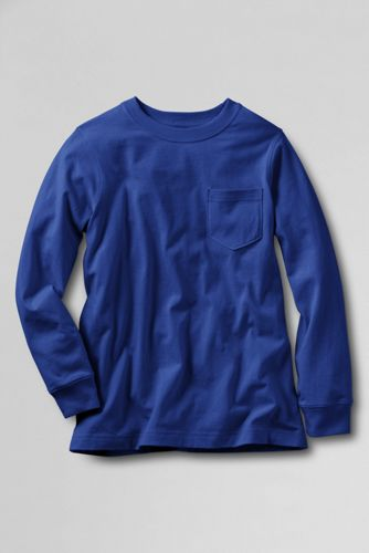Little Boys' Plain Long Sleeve Super-T™