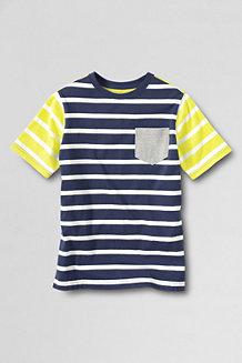 Boys' Short-sleeve Stripe Super-T