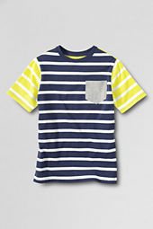 Boys' Short Sleeve Stripe Super-T Shirt