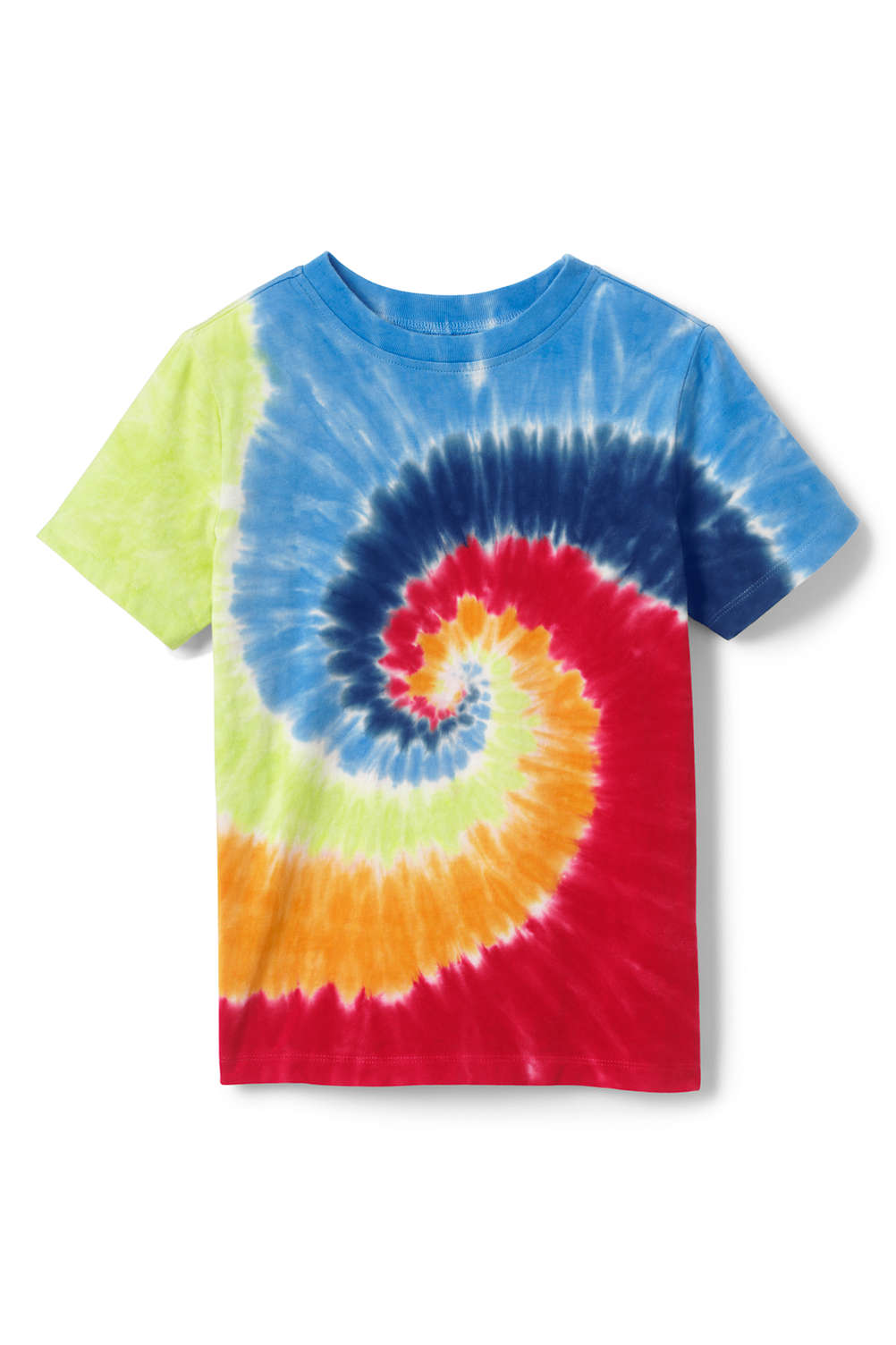 2beed40da Boys Tie Dye T Shirt from Lands' End