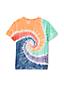 T-shirt Tye Dye Manches Courtes, Petit Garçon