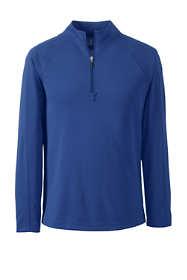 School Uniform Men's Multi Textured Quarter Zip Pullover