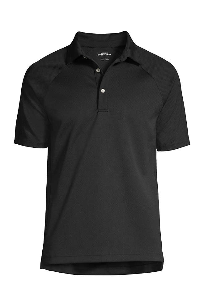 Men's Big Short Sleeve Multi Textured Polo , Front