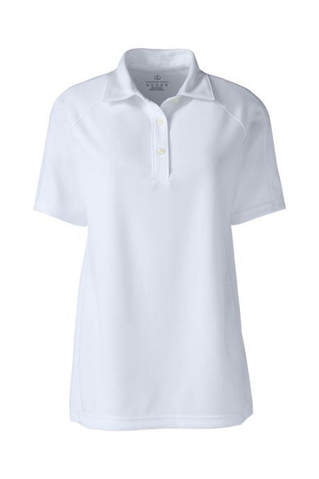Women's Short Sleeve Multi Textured Polo