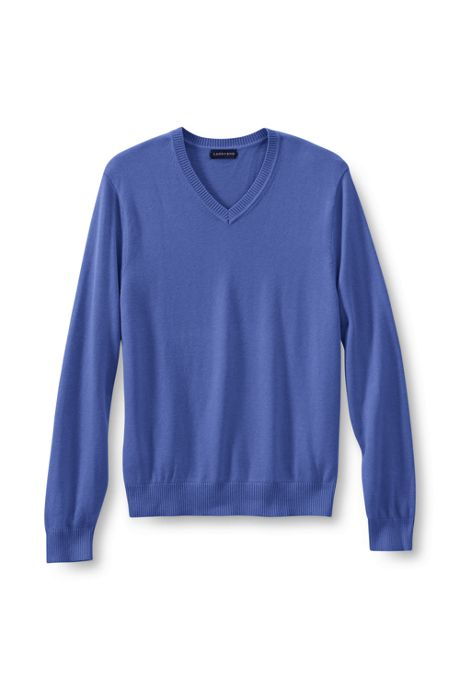 Men's Big Performance Soft V-neck Sweater