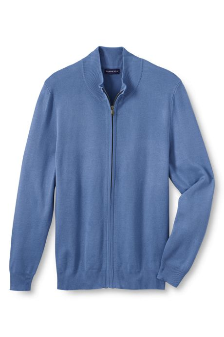 Men's Big Performance Zip Cardigan Sweater