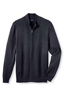 Men's Regular Performance Zip Cardigan Sweater, Front