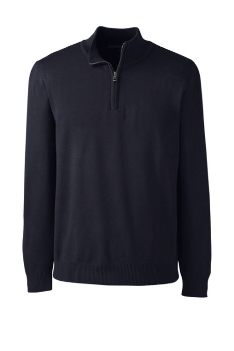 Men's Performance Half Zip Mock Sweater