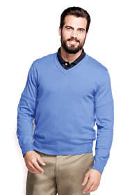 Men's Tall Performance V-neck Sweater