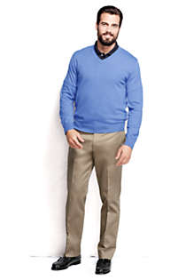 Men's Performance V-neck Sweater, alternative image
