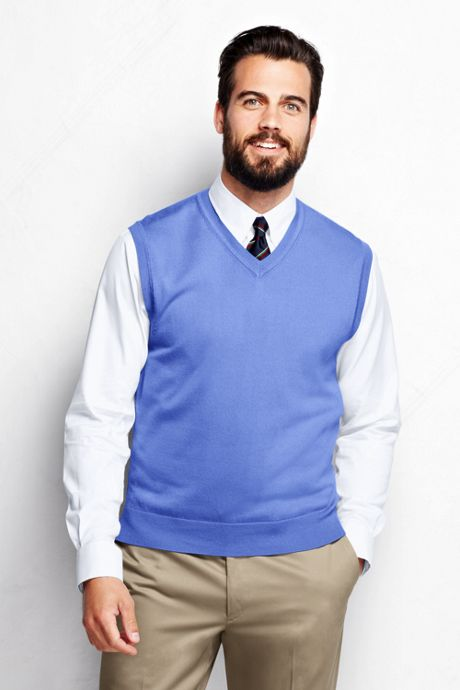 Men's Big Performance Sweater Vest
