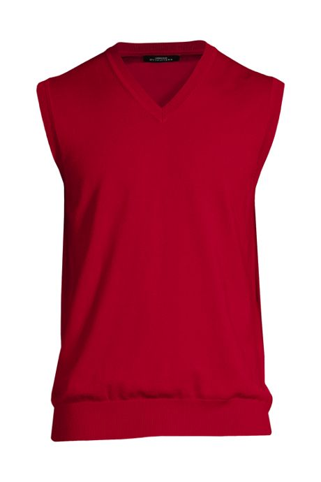 Men's Performance V-neck Sweater Vest
