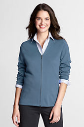 Women's Performance Long Sleeve Double Zip V-neck Cardigan