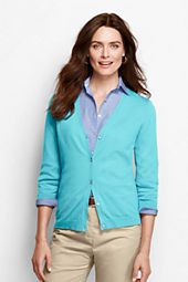 Women's Performance 3/4-sleeve V-neck Cardigan
