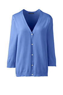 Women's 3/4 Sleeve Performance Cardigan Sweater, Front