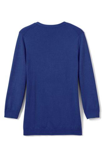 Women's Petite 3/4 Sleeve Performance Cardigan Sweater
