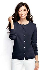 Women's Plus Size Performance Crew Cardigan Sweater