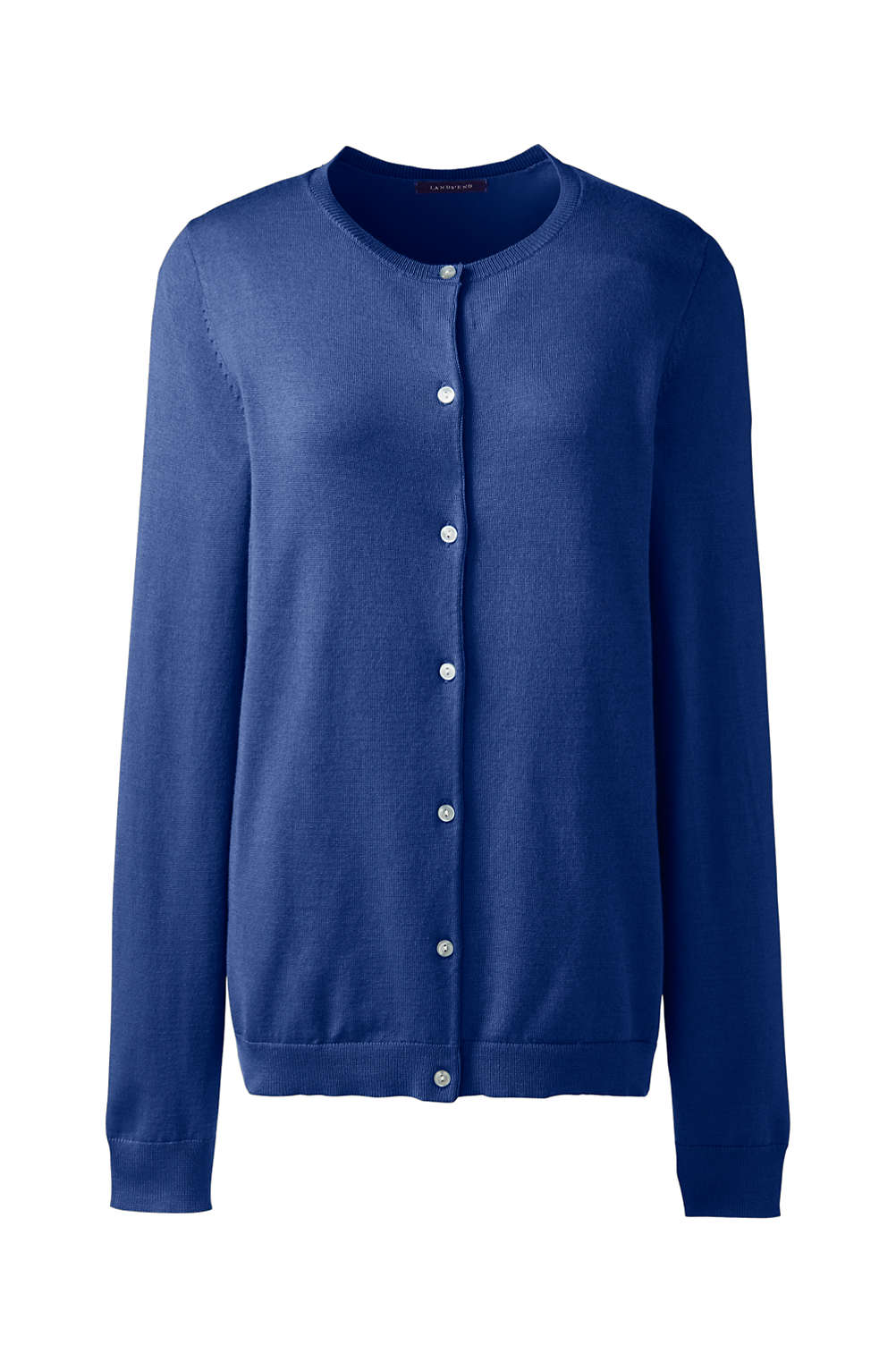 9bd1651fd5 Women s Performance Crew Cardigan Sweater from Lands  End