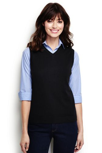 Women's Performance Sweater Vest from Lands' End