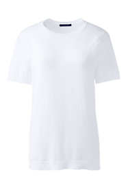 Women's Plus Size Short Sleeve Performance Sweater