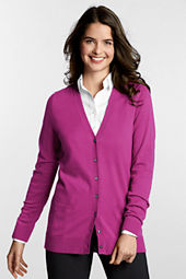 Women's Long Sleeve Performance Soft  V-neck Cardigan