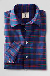 Boys' Long Sleeve Plaid Shirt