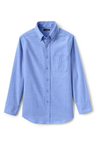 Little Kids' Washed Oxford Shirt