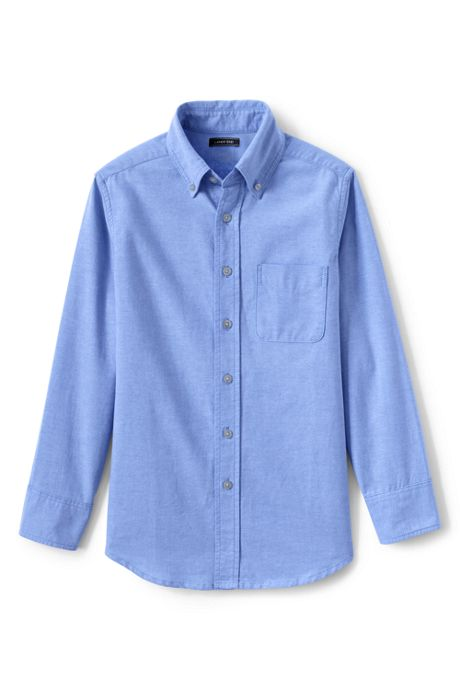 Kids Husky Washed Oxford Shirt
