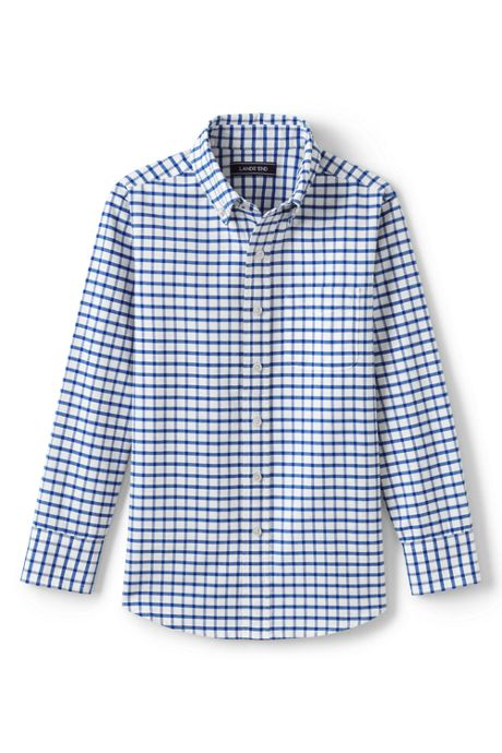 Little Kids Washed Oxford Shirt