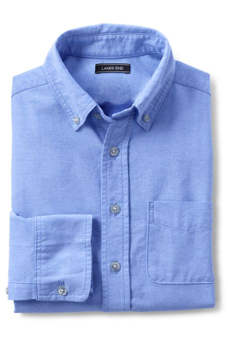 Kids Washed Oxford Shirt