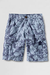 Boys' Printed Cargo Shorts