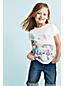 Little Girls' Roll-Up Denim Shorts