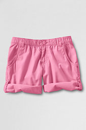 Girls'  Roll-Up Cargo Shorts
