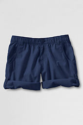 Girls' Cargo Pocket Roll-up Shorts