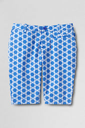 Girls' Print Bermuda Shorts
