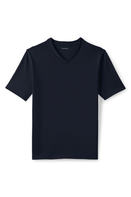 School Uniform Men's Super-T Short Sleeve V-Neck T-Shirt